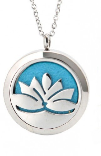 Diffuser Necklaces Lotus Flower Variety Gifts Servicesâ