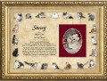 cat artwork framed