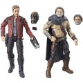 Star Lord and Ego Figures
