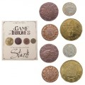 game of thrones house stark coins